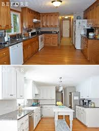 How Do You Paint Kitchen Cabinets White Painted Kitchen Cabinets Reveal