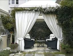 Outdoor Cabana Curtains How To Hang Pergola Curtains Outdoor Gazebo Drapes Ideas Design