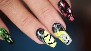 100 halloween nail design ideas graveyard design easy