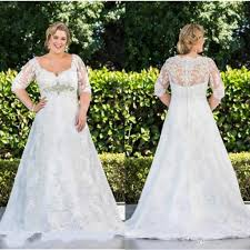 30 beautiful plus size wedding dresses with sleeves wedding