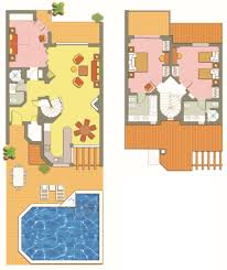 floor plans of hillside and cluster villas four seasons fairways