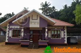Home Design 900 Square Sq Ft Single Floor Traditional Roofed Home Designs
