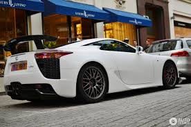 lexus lfa modified lfa nurburgring lexus lfa nurburgring edition white rear section
