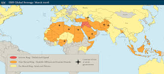Strategy Map Isis Global Strategy March 2016 Institute For The Study Of War