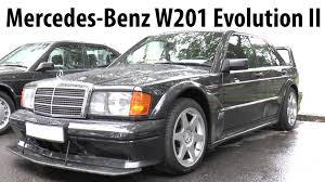 mercedes benz 190e w201 2 5 16 evolution ii 1990 classic car