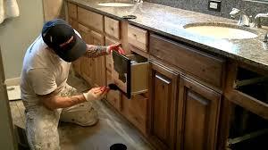 Kitchen Cabinet Glazing Techniques Distressed Alder Kitchen Cabinets Heavily Distressed Knotty