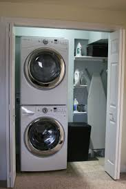 Decorating Laundry Room Walls by 103 Best Stacking Washer Dryer Images On Pinterest Laundry