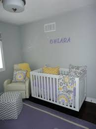 purple and grey nursery full size of and gray crib bedding baby
