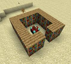 How To Make A Bookshelf In Mc Most Efficient Use Of Bookshelves Around Enchanting Table