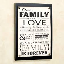 our family wall plaque sign