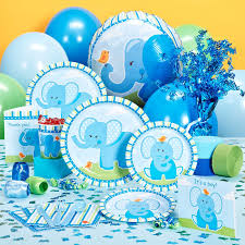 Interior Design Cool Elephant Themed Baby Shower Decorations