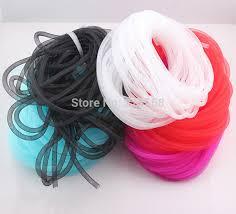 thread cord bracelet images Online cheap diameter 8mm bracelet mesh cord tubing tube plastic jpg