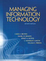managing information technology 7th edition application