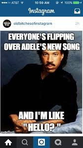 Lionel Richie Meme - erica nealon on twitter i just saw this hilarious adele lionel