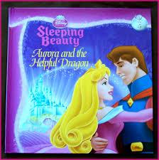 disney princess book sleeping beauty vol 5 aurora u0026 helpful dragon