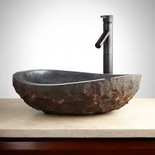 stone vessel bathroom sinks natural sinks single hole vanity