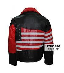 motor leather jacket american flag men u0027s motorcycle leather jacket