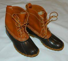 s bean boots size 9 ll bean duck boots approximately size 9 by foreillyvintage on etsy