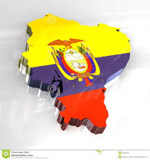 Quechua Flag 3d Flag Map Of Ecuador Stock Illustration Image Of Figure 6529746