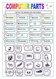 computer worksheet for grade 1 places to visit pinterest