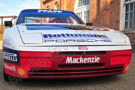 porsche 944 rally car porsche 944 rothmans turbo cup c