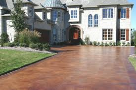 innovative ideas concrete driveway stain pleasing acid stained