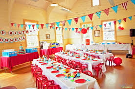 decorations fabulous garden kids party decor ideas with red
