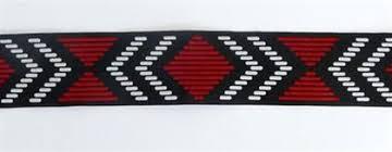 woven ribbon maori woven ribbon trim per yard