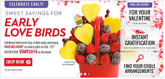 edible arrangement deals edible arrangements free delivery on select gifts on february