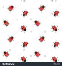 ladybug wrapping paper ladybug seamless pattern ladybird repeating background stock