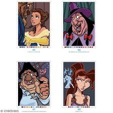 Livre coloriage adulte  A4  Mystères classiques Disney  100