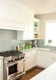 green glass tiles for kitchen backsplashes tiny kitchen design ideas wooden floor with white cabinet and