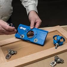 kitchen cabinet door hinge drill bit kreg concealed hinge jig khi hinge the home depot