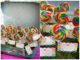 Rainbow Themed Birthday Favors by Rainbow Ideas Rainbow Ideas And