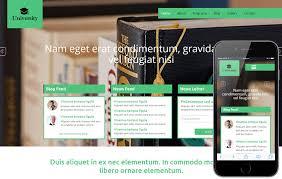university a educational category flat bootstrap responsive web