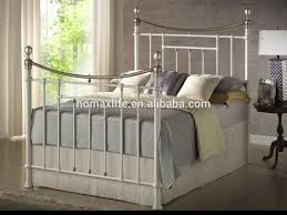 home furniture wrought iron double cot bed home furniture wrought