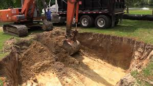 how much dirt comes out of a pool excavation jobsite video