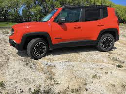 red jeep compass 2017 jeep compass trailhawk better off road than on chicago tribune