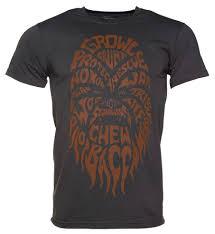 wars class of 77 shirt men s charcoal chewbacca text wars t shirt