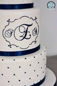 cake monograms gainesville wedding cakes summer 2011 bearkery bakery