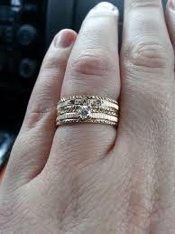used wedding rings thoughts on custom engagement wedding rings weddingbee