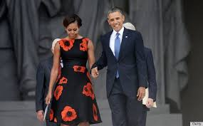 obama dresses obama s tracy reese dress at let freedom ring event can
