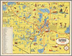 Alexandria On A Map Map Of Alexandria Lake Region In Minnesota David Rumsey