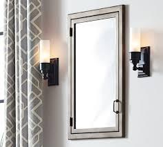pottery barn medicine cabinet recessed bathroom medicine cabinets with mirrors my web value