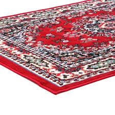Golf Area Rug by Traditional Medallion Persian Style 8x11 Large Area Rug Actual 7