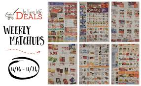 harris teeter deals weekly matchups 11 16 11 24 ad through