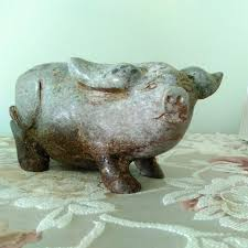 ornamental pigs home furniture on carousell