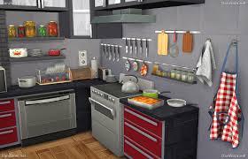 sims kitchen ideas kitchen decor set for sims 4 simscustomcontent