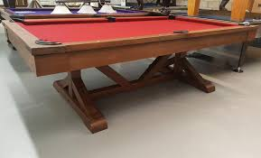 tournament choice pool table the albany 8 foot pool table that comes in a rustic chagne finish