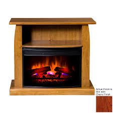 shop topeka innovative concepts 37 in w 5200 btu elm cherry wood